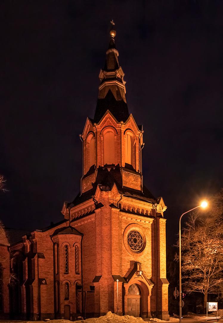 Messukylän omakotiyhdistys Tampere - Messukylän uusi kirkko